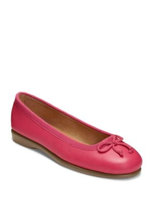 Fashionista Leather and Fabric Flats by Aerosoles