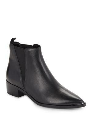 Buy Yale Leather Booties by Marc Fisher LTD online