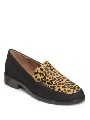 Wishlist Leather Loafers by Aerosoles