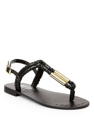 Braidie Braided Rope Thong Sandals by Steve Madden