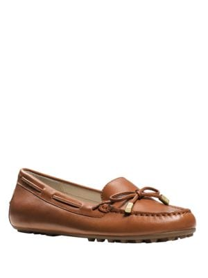 Daisy Leather Moccasins by MICHAEL MICHAEL KORS