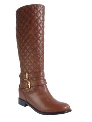 Sutton Quilted Leather Boots by Kate Spade New York