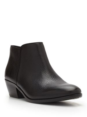 Petty Leather Booties by Sam Edelman