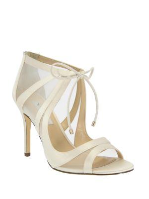 Cherie Satin Stiletto Sandals by Nina