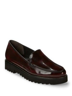 Ariana Patent Leather Loafers by Paul Green