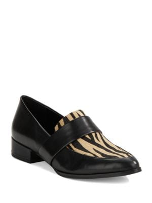 Valentina Leather Loafers by 424 Fifth