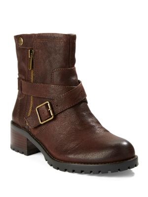 Walcott Leather Ankle Boots by 424 Fifth