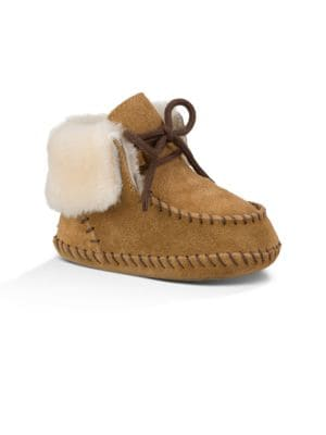 Baby's Sheepskin-Lined...