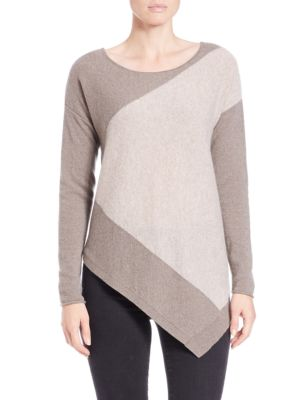 Colorblocked Cashmere Top 500084389014