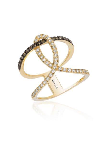 Pavé Rose Diamond & 14 K Rose Gold Bracelet by Effy