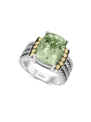 18K Goldplated, Green...
