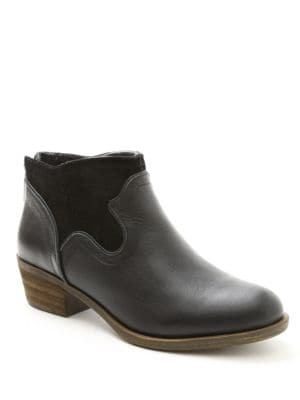 Gabor Suede-Accented Ankle Boots by Kensie