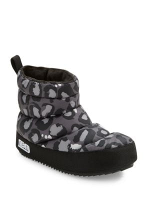 Macdougal Leopard-Print Nylon Platform Booties by Marc Jacobs