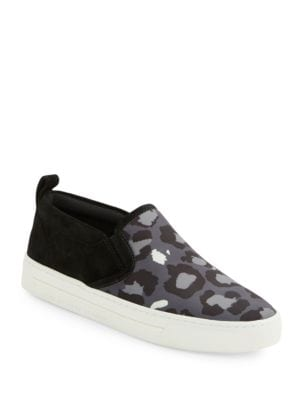 Broome Leopard-Print & Leather Skate Shoes by Marc Jacobs
