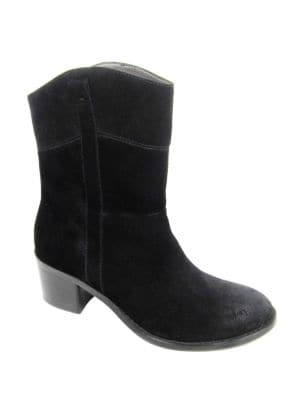Fonzie Suede Ankle Boots by Adrienne Vittadini