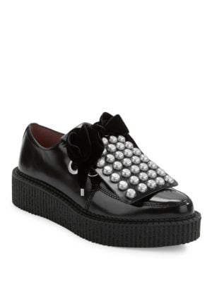 Studded Platform Oxfords by Marc Jacobs