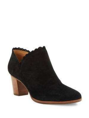 Marianne Suede Ankle Boots by Jack Rogers