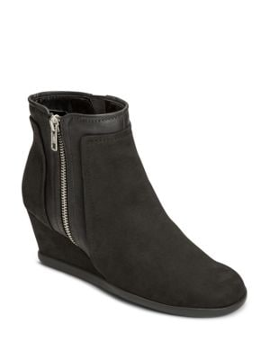 Outfit Microsuede Ankle Boots by Aerosoles