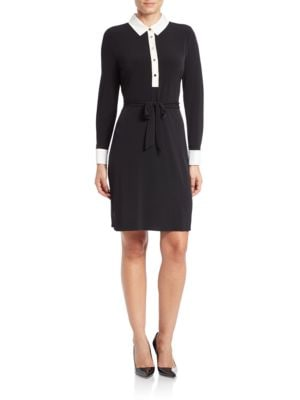 Belted Jersey Shirtdress by Ivanka Trump