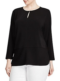 Plus-Size Tops | Lord & Taylor