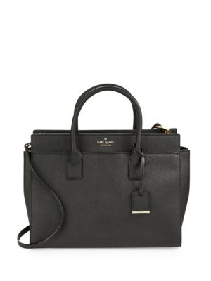 Cameron Street Candace Leather Satchel 500085363273