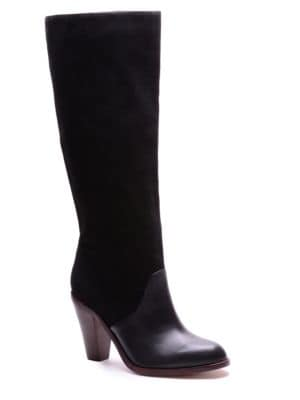 Sullie Suede & Leather Boots by Splendid
