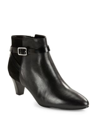 Sylvan Leather & Suede Booties by Cole Haan