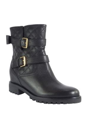 Buy Samara Quilted Leather Boots by Kate Spade New York online
