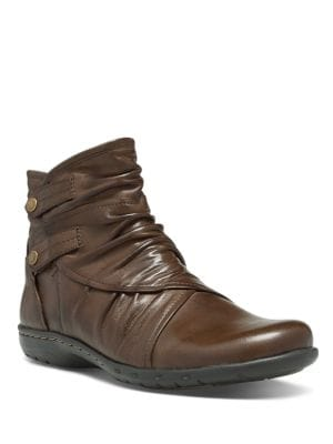 Pandora Leather Ankle Boots by Rockport Cobb Hill