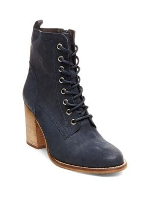 Lauuren Leather Ankle Boots by Steve Madden