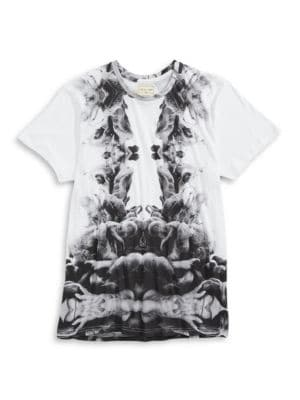 Kaleidoscope-Print Tee by ELEVEN PARIS