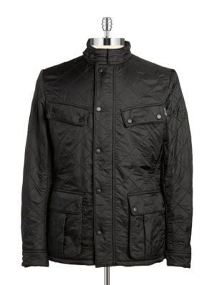 Fleece-Lined Quilted Coat by Barbour
