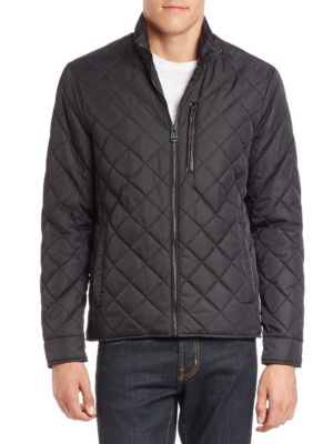 Quilted Nylon Jacket...