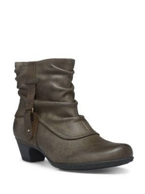 Alexandria Leather Ankle Boo by Rockport Cobb Hill