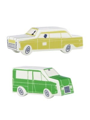 About Town Car Salt and Pepper Set