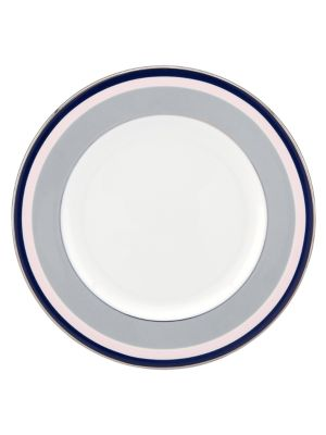 Mercer Drive PlatinumAccented Bone China Salad Plate