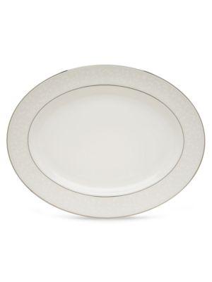 Opal Innocence 16Inch Oval Platter
