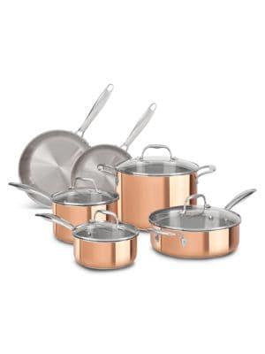 Tri-Ply Copper 10-Piece...