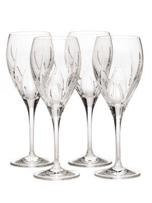 Agena Crystal Goblet Set of 4