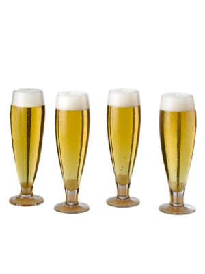 Brewmasters Co Pilsner Glass Set of 4
