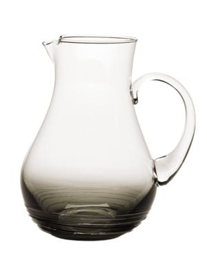 Swirl Smoke Glass Pitcher 500086516846