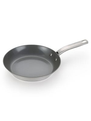Precision Stainless Steel Ceramic 12-Inch Frying Pan 500086566924