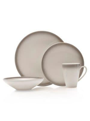 Theo Gray 16-Piece Dinnerware...