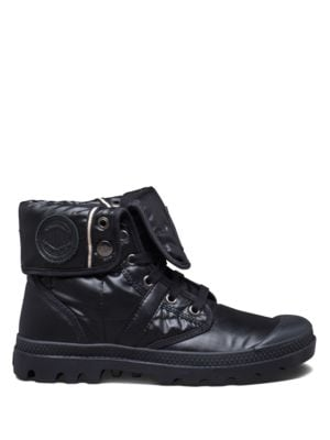 Pallabrouse Leather-Trimmed Ankle Boots by Palladium