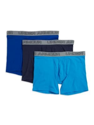 Charged Cotton Stretch 6 Inch Boxerjock 3-Pack by Under Armour
