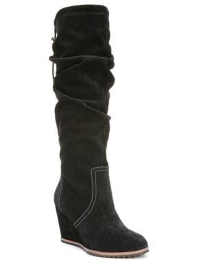 Inka Suede Knee-High Boots by Dr. Scholl's