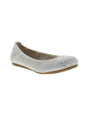 Girl's Studded Slip-On...