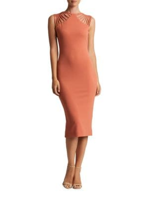 Gwen Strappy Bodycon Dress by Dress The Population