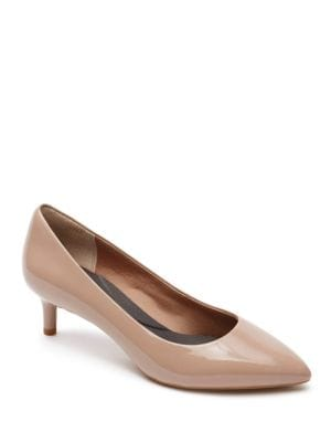 Kalila Point Toe Leather Pumps by Rockport