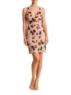 Natalie Floral-Lace Dress by Dress The Population